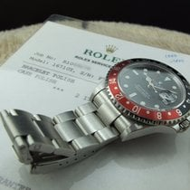 ロレックス (Rolex) GMT MASTER 2 16710 Coke Red/Black Bezel with RSC...