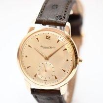 IWC Vintage Uhr 750er Rose Gold ca. 50ger Jahre