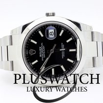 Rolex Datejust Oyster Perpetual 41mm Black Dial