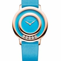 Chopard Happy Sport Icons 18K Rose Gold, Reconstructed...