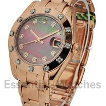 Rolex Unworn 81315_blk_mop_dd Rose Gold Midsize Masterpiece-81...