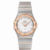 Omega CONSTELLATION  18ct Rose Gold and Stainless Steel