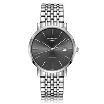 Longines Elegant Collection Automatic Stainless Steel Grey...