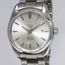 Omega Seamaster Aqua Terra Co-Axial Steel Silver Dial 39mm...