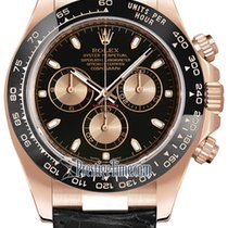 Rolex Cosmograph Daytona Everose Gold 116515LN Black and Pink...