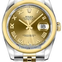 Ρολεξ (Rolex) Datejust 36mm Stainless Steel and Yellow Gold...
