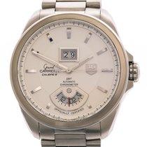 TAG Heuer Grand Carrera GMT Calibre 8 RS Chronometer Stahl...