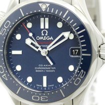 Omega Polished Omega Seamaster Diver 300m Automatic Watch...