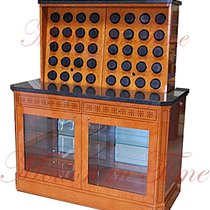 Orbita Bergamo Madrona Burl Rotorwind 40 Watch Winder with...
