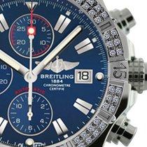 Breitling Super Avenger Aeromarine A13370 Blue Sticks Dial 2...