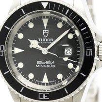 チュドール (Tudor) Polished  Rolex Mini-sub Steel Automatic Watch...