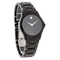 Movado Military Series Mens Black Dial Swiss Quartz Watch 0606486