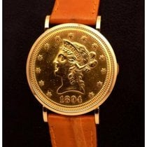 Piaget | Ten Dollar Coin Watch 18 K Yellow Gold