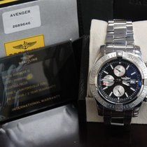 Breitling Super Avenger Ii Professional A13371 Stainless Steel...