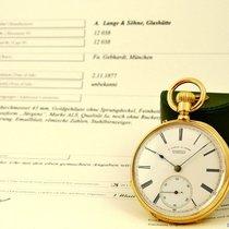 A. Lange & Söhne Lépine 18k Yellow Gold 1B Quality Bj 1877