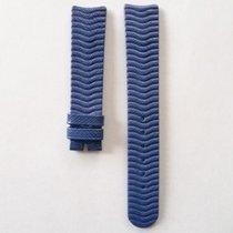 Ebel Lederarmband blau 18mm o. Dornschließe