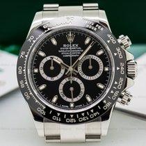 Rolex 116500LN Daytona Ceramic Bezel SS / Black Dial (25527)