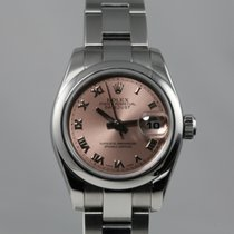 Ρολεξ (Rolex) Datejust 179160 Pink Roman Dial Full Set