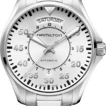 Hamilton PILOT DAY DATE AUTO H64615155 Herren Automatikuhr 80h...