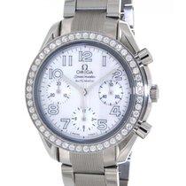 オメガ (Omega) Speedmaster 38357036 Steel, Diamonds, 37mm