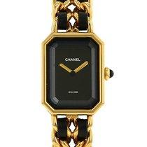 Chanel Première taille L en plaqué or Vers 1990