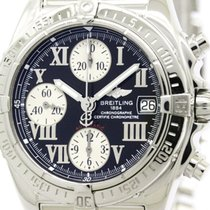 Breitling Polished Breitling Chrono Cockpit Steel Automatic...