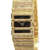 Piaget Ladies Polo 18k Yellow Gold Diamond Quartz Watch 8131 C...