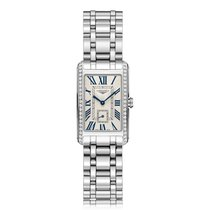 Longines DolceVita Quartz Stainless Steel Ladies Watch L55120716