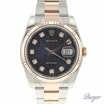 Rolex Datejust 36 Rolesor Everose Fluted / Oyster / Diamond...
