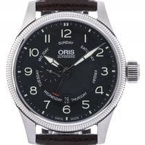 Oris Big Crown Small Second Pointer Day Stahl Automatik 44mm