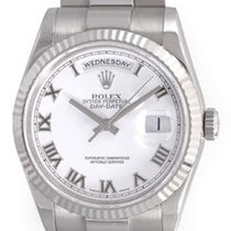 Rolex President Men's - Day-Date Watch 18239 White Dial