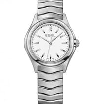 Ebel Wave Lady Steel Case and Bracelet, White Dial, Quartz