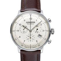 Junkers Bauhaus Chronograph 6086-5 inkl.Ersatzarmband NEU