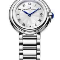 Maurice Lacroix Fiaba. Roman Index, Silver Dial, Steel Strap,...