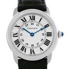 Cartier Ronde Solo Steel Ladies Silver Dial Watch W6700155