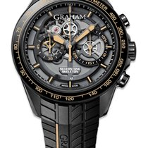 Graham Automatic Silverstone RS Skeleton Mens Watch