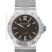 Bulgari stainless steel ladies Diagono
