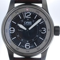 Oris Mans Automatic Wristwatch Big Crown Timer