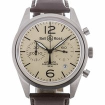 Bell & Ross Aviation 41 Automatic Beige Dial
