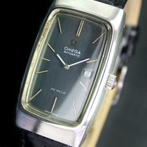 Omega DeVille Automatic Date Steel Mens Watch RARE