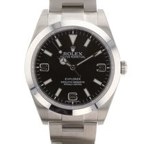 Rolex Explorer 39mm Stainless Steel 214270 Mens Watch