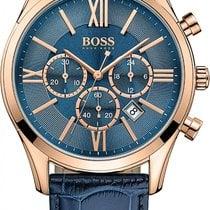 Hugo Boss AMBASSADOR ROUND 1513320 Elegante Herrenuhr Zeitlose...