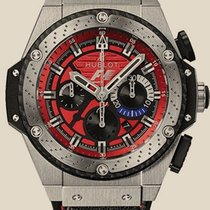 Hublot King Power F1 Austin Red Dial Chronograph