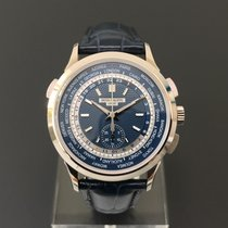 Patek Philippe World Time Chronograph White Gold
