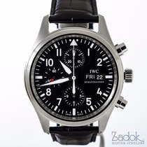 IWC Pilot's Chronograph IW377709 43mm Automatic Watch...