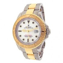 Rolex Yacht-Master 16623 Stainless Steel 18k Yellow Gold...