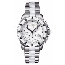 Certina DS First Lady Keramik Chrono Damenuhr C014.217.11.011.01