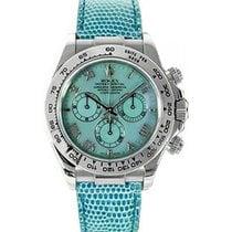 Rolex Cosmograph Daytona 116519 116519-BLURBU Blue Mother Of...