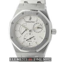 Audemars Piguet Royal Oak Dual Time Stainless Steel 36mm White...