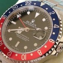ロレックス (Rolex) GMT II ST REF 16710 +Box & Papiere+ WIE NEU...
